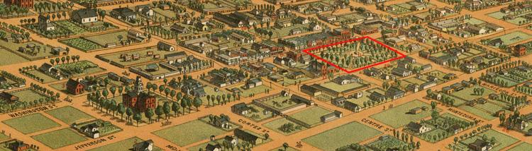 Phoenix map 1885