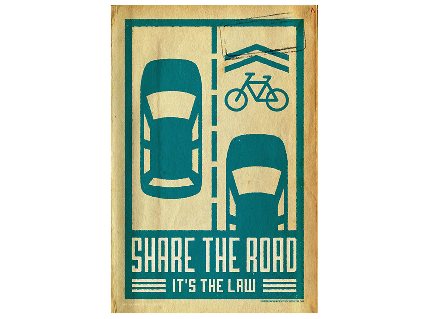 Share the Road bikes