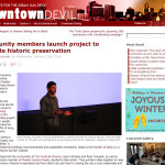 Downtown Devil article