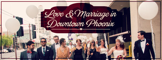 Downtown Phoenix Wedding