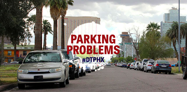 Parking in Downtown Phoenix