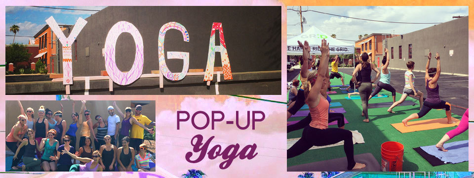 Pop-Up Downtown Phoenix yoga