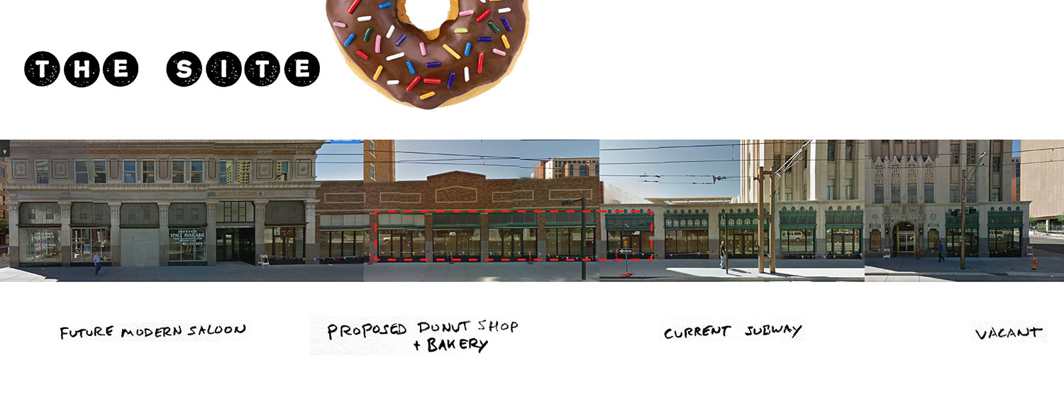 Downtown Phoenix donuts